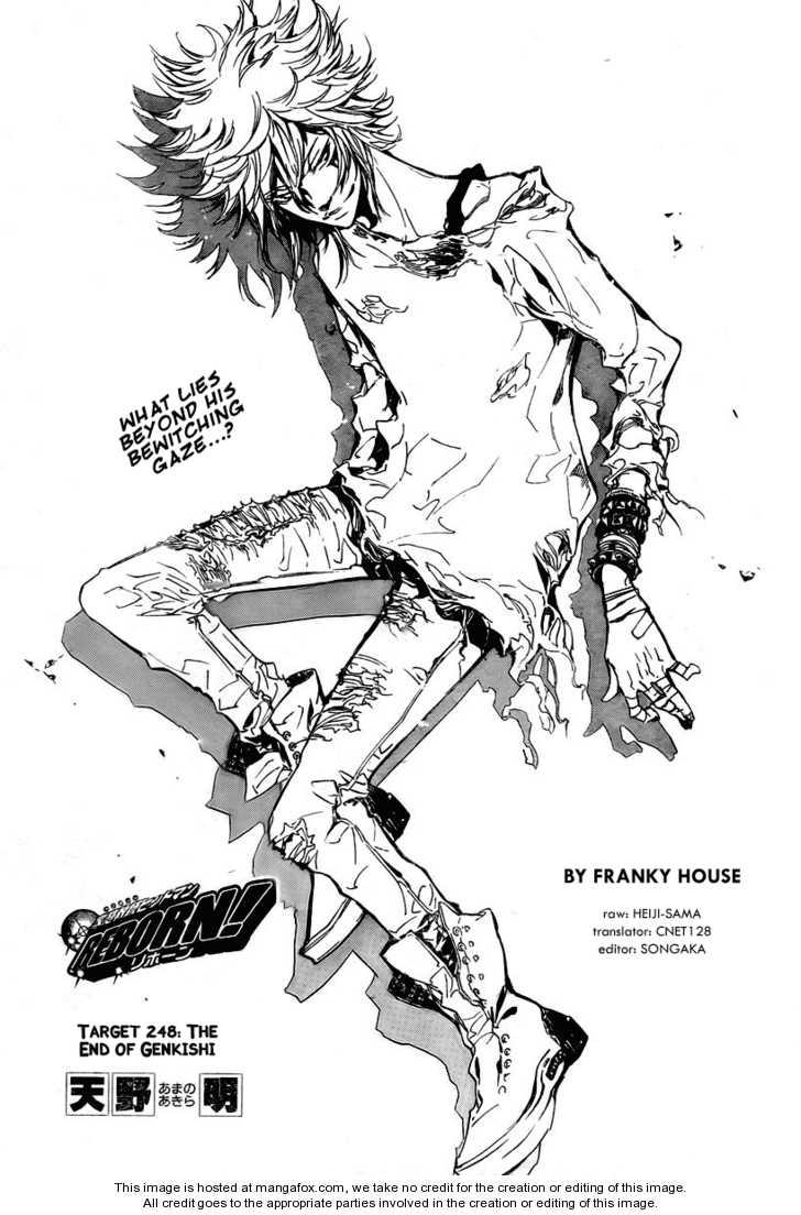 Katekyo Hitman Reborn 248 Page 1