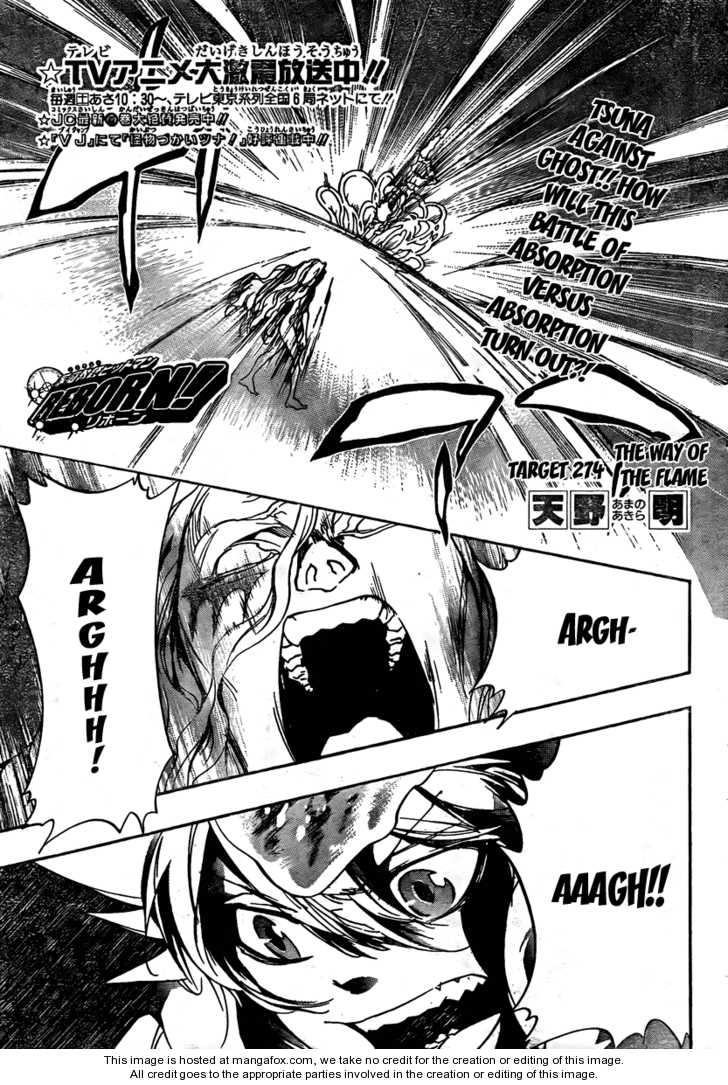 Katekyo Hitman Reborn 274 Page 1