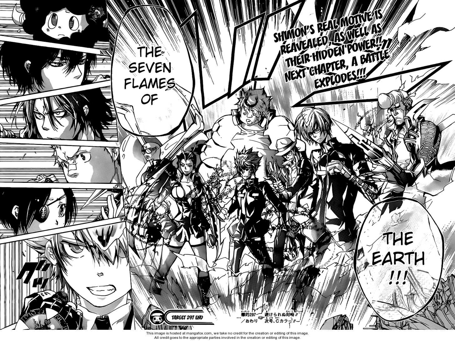 Katekyo Hitman Reborn 297 Page 16