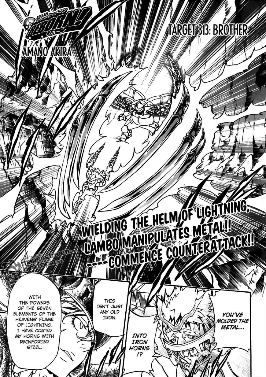Katekyo Hitman Reborn 313 Page 1
