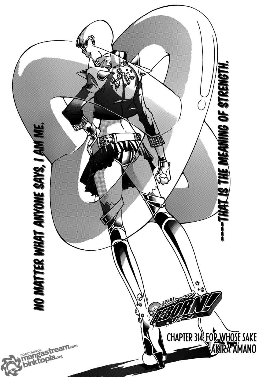Katekyo Hitman Reborn 314 Page 1