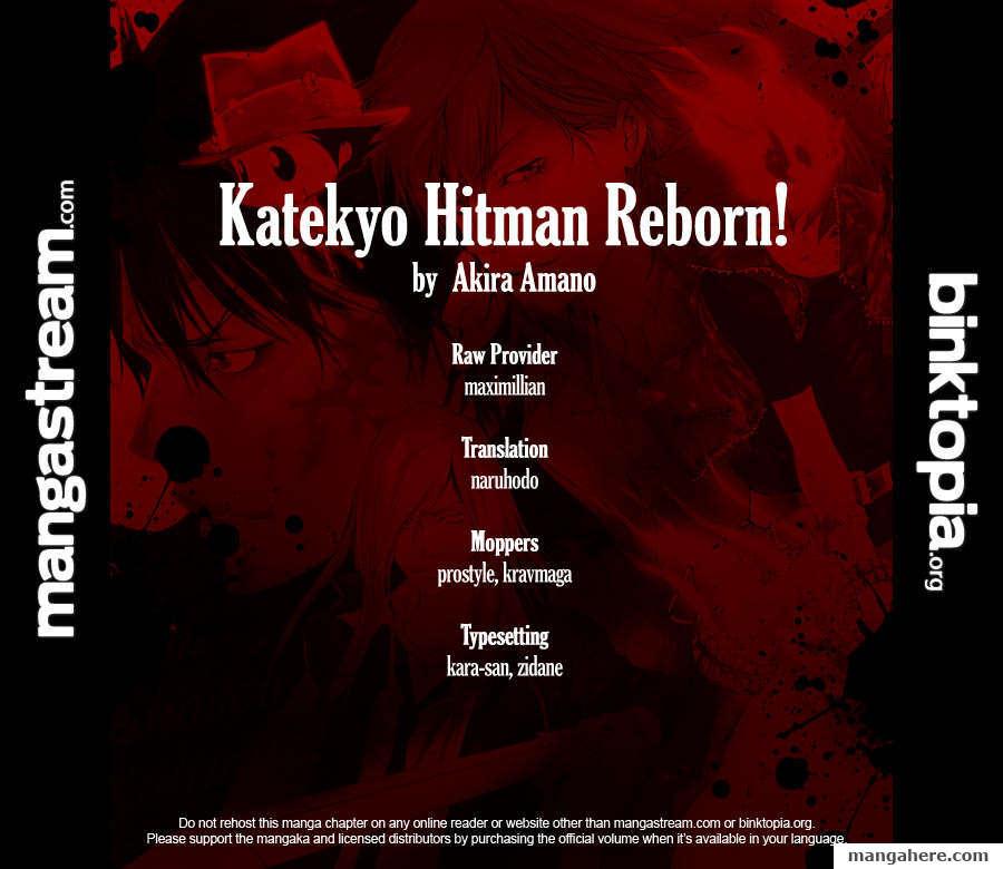 Katekyo Hitman Reborn 317 Page 2