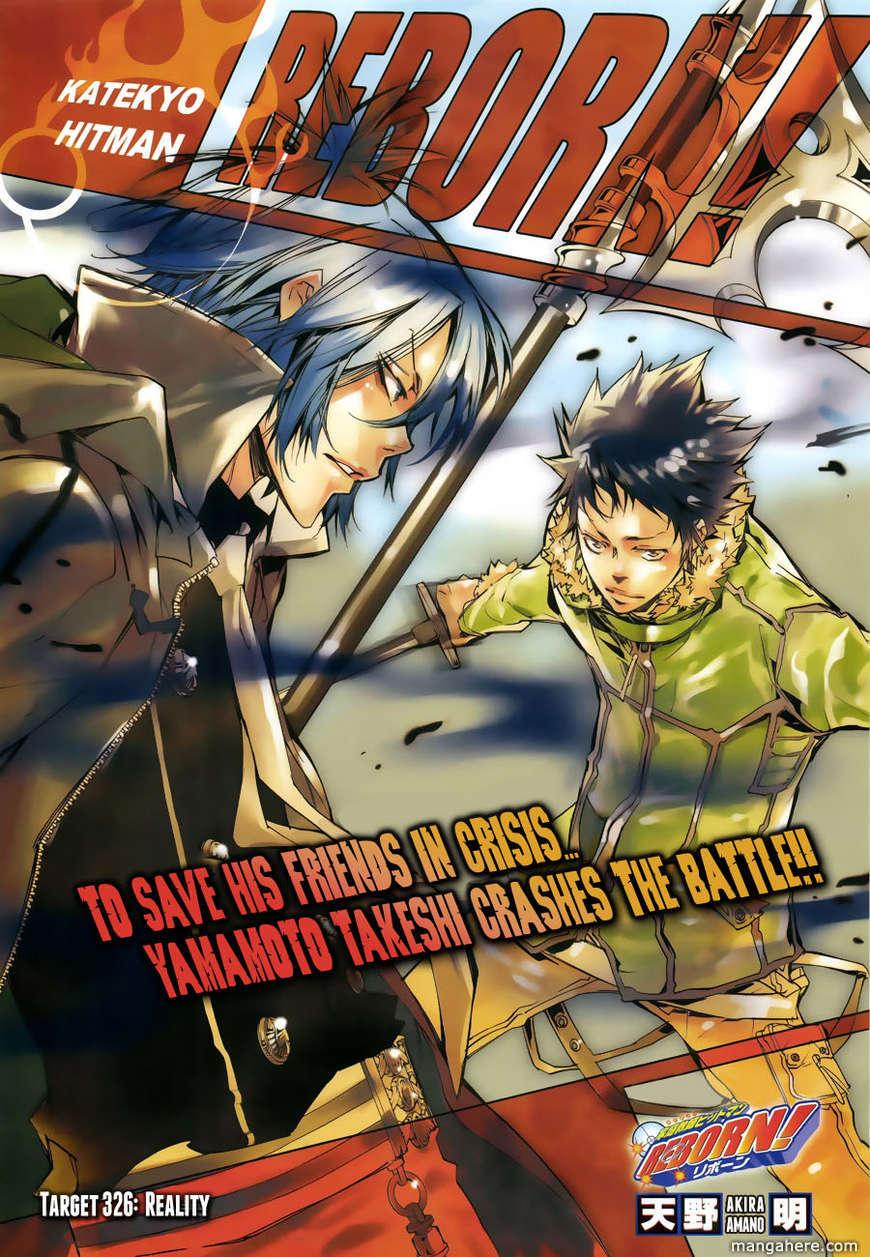 Katekyo Hitman Reborn 326 Page 1