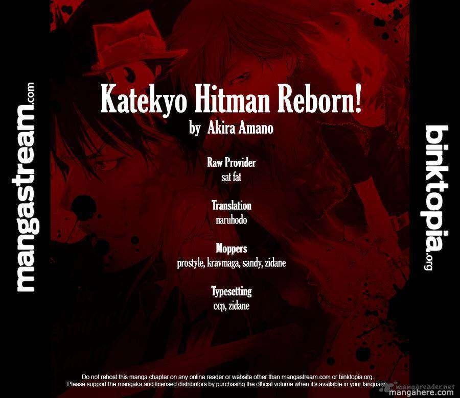 Katekyo Hitman Reborn 328 Page 19