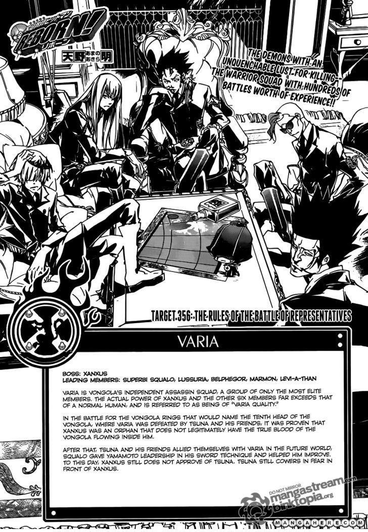 Katekyo Hitman Reborn 356 Page 1