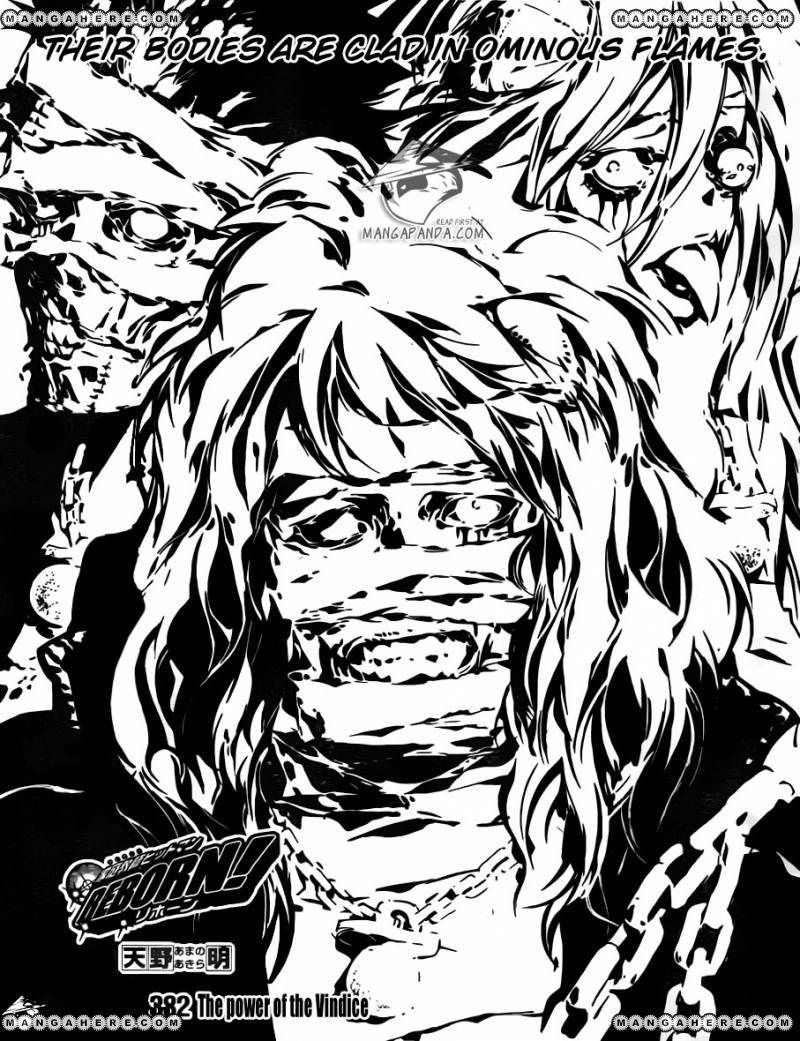Katekyo Hitman Reborn 382 Page 1
