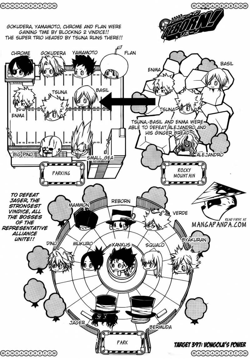 Katekyo Hitman Reborn 397 Page 1