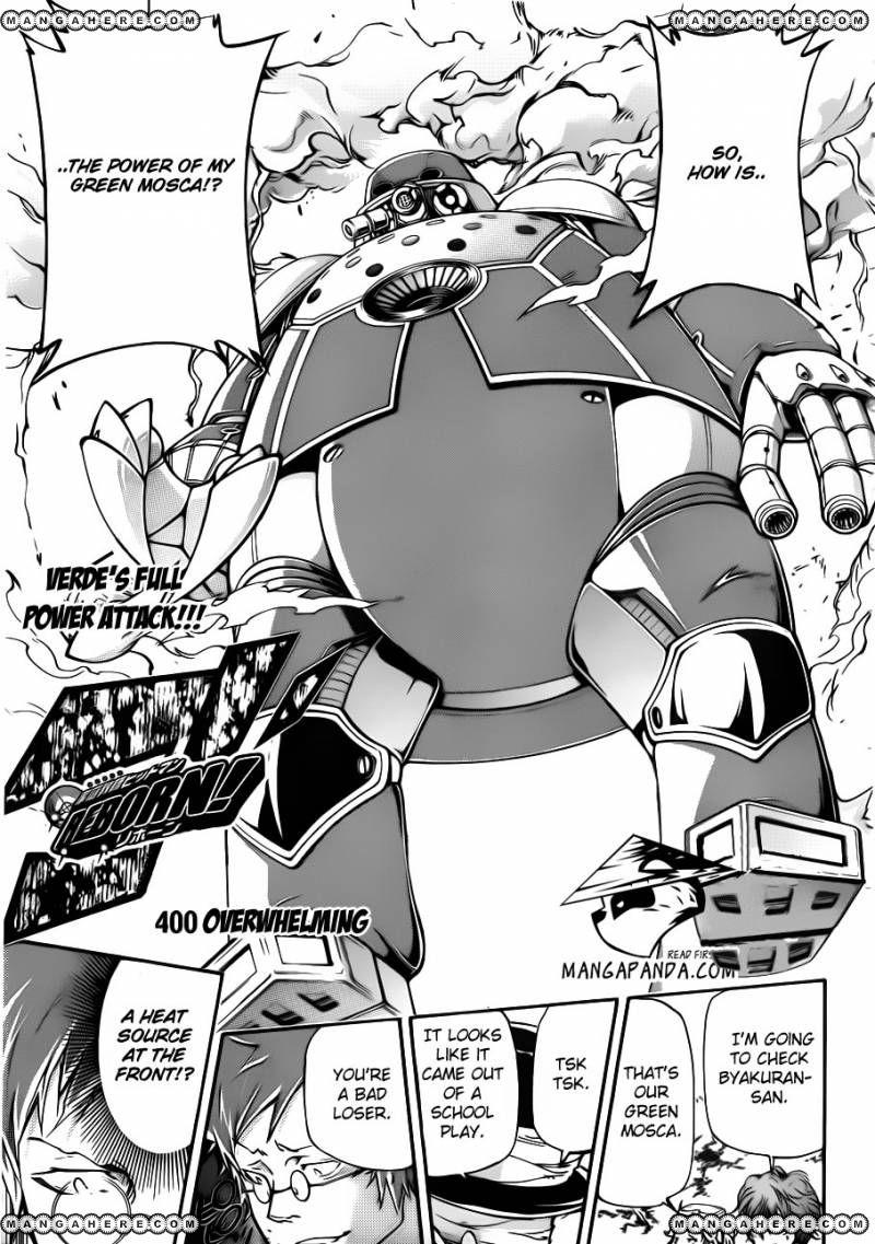 Katekyo Hitman Reborn 400 Page 1