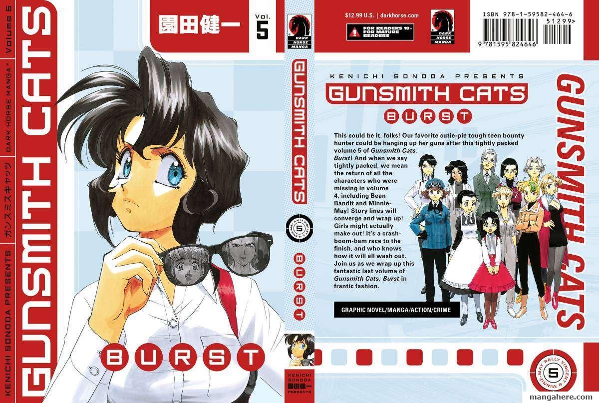 Gunsmith Cats Burst 5 Page 1