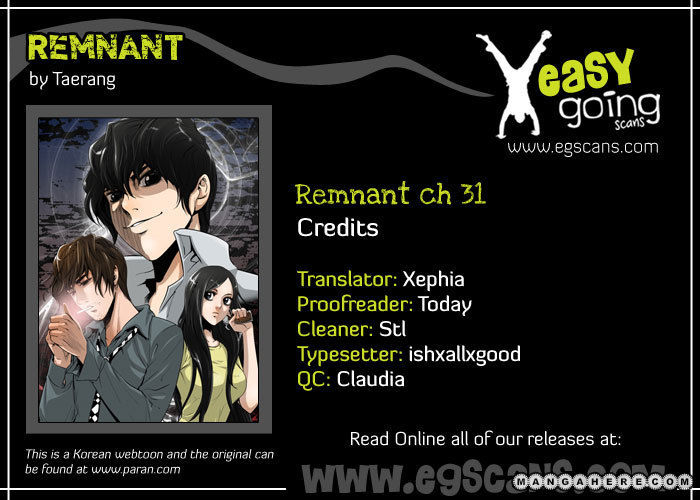 Remnant 31 Page 1
