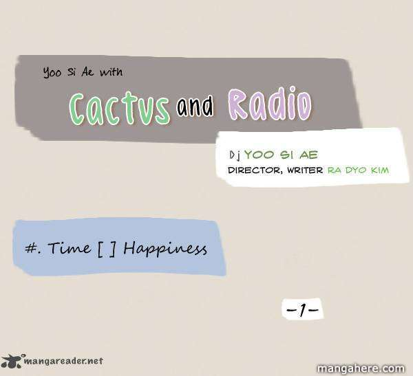 Cactus and Radio 14 Page 1