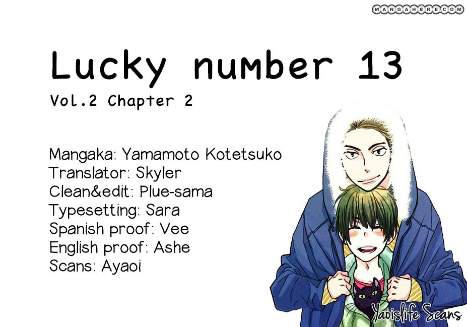 Lucky Number 13 8 Page 1
