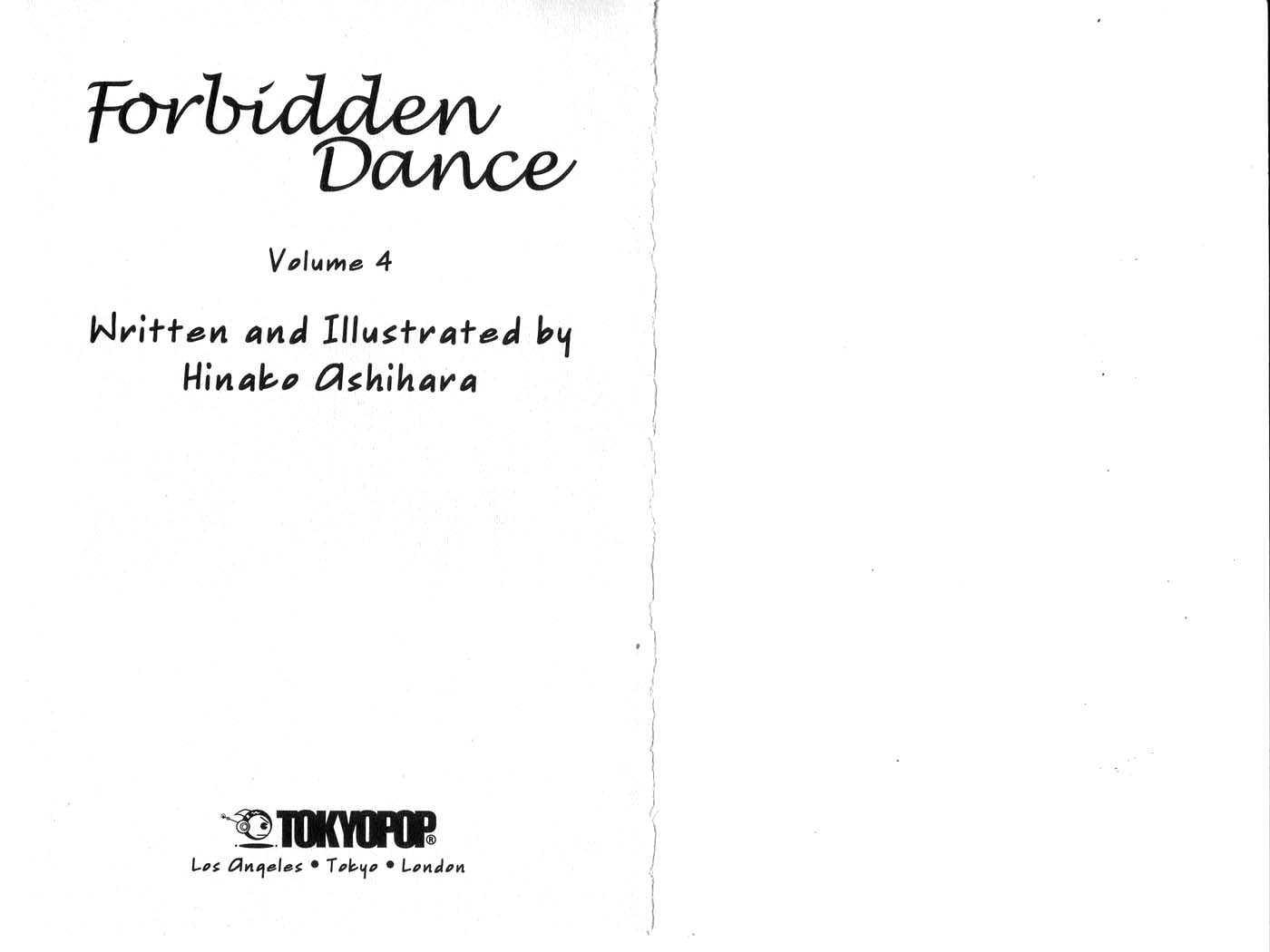 Forbidden Dance 0 Page 2