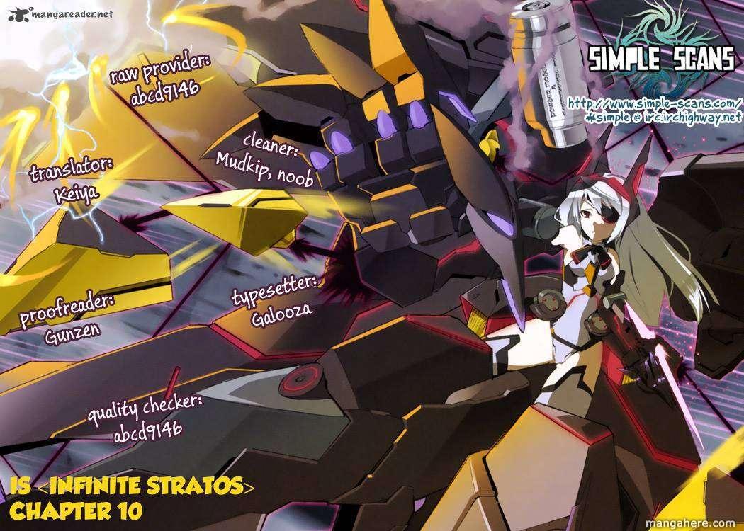 Infinite Stratos 10 Page 1
