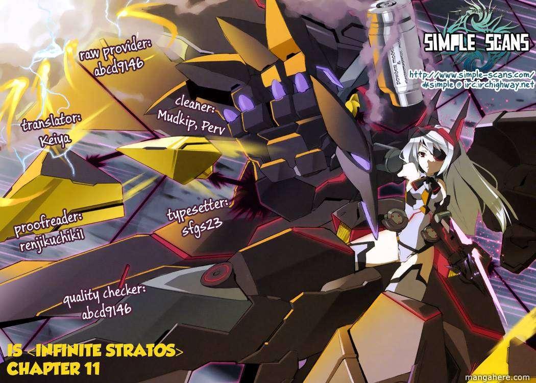 Infinite Stratos 11 Page 1