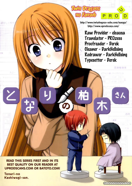 Tonari no Kashiwagi-san 25 Page 1