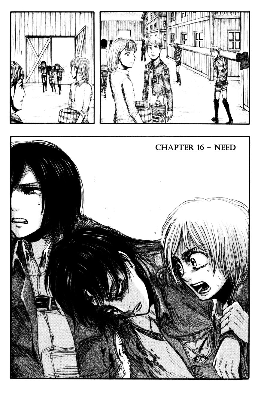 Shingeki no Kyojin 16 Page 1