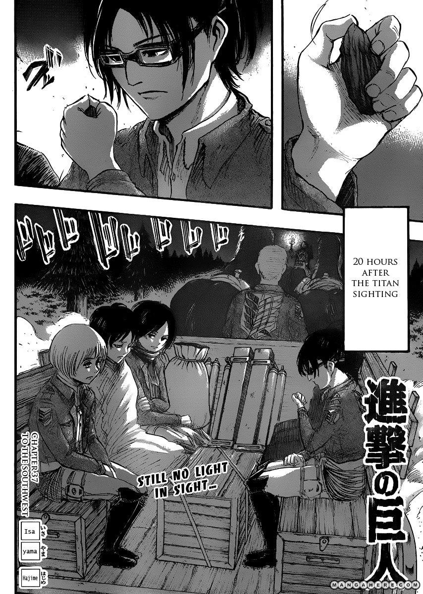 Shingeki no Kyojin 37 Page 1