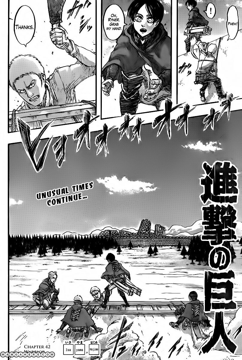 Shingeki no Kyojin 42 Page 2