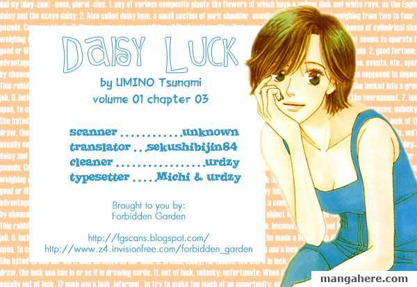 Daisy Luck 3 Page 1