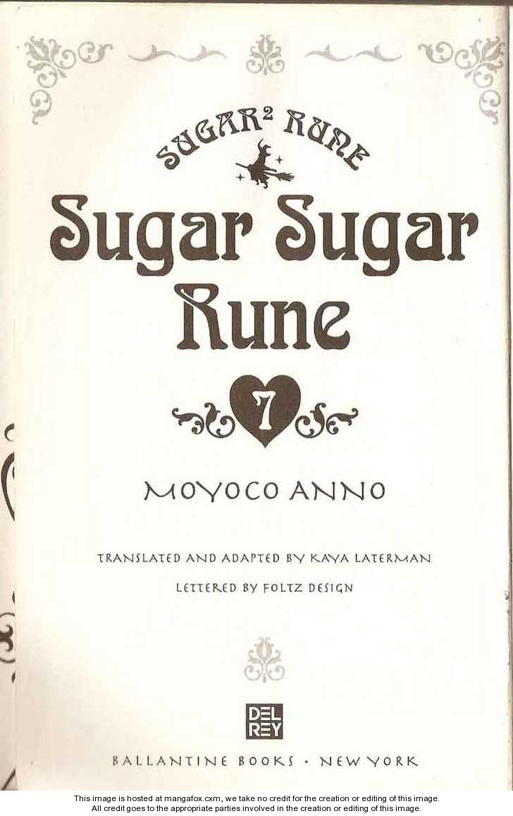 Sugar Sugar Rune 0 Page 2