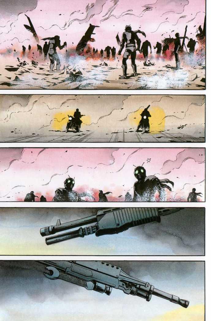 Kamen Rider Spirits 21 Page 1