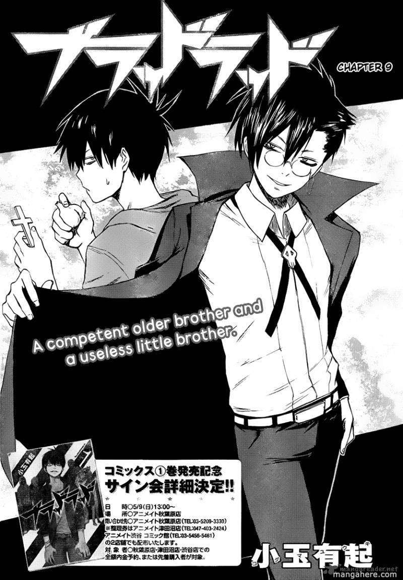 Blood Lad 9 Page 1