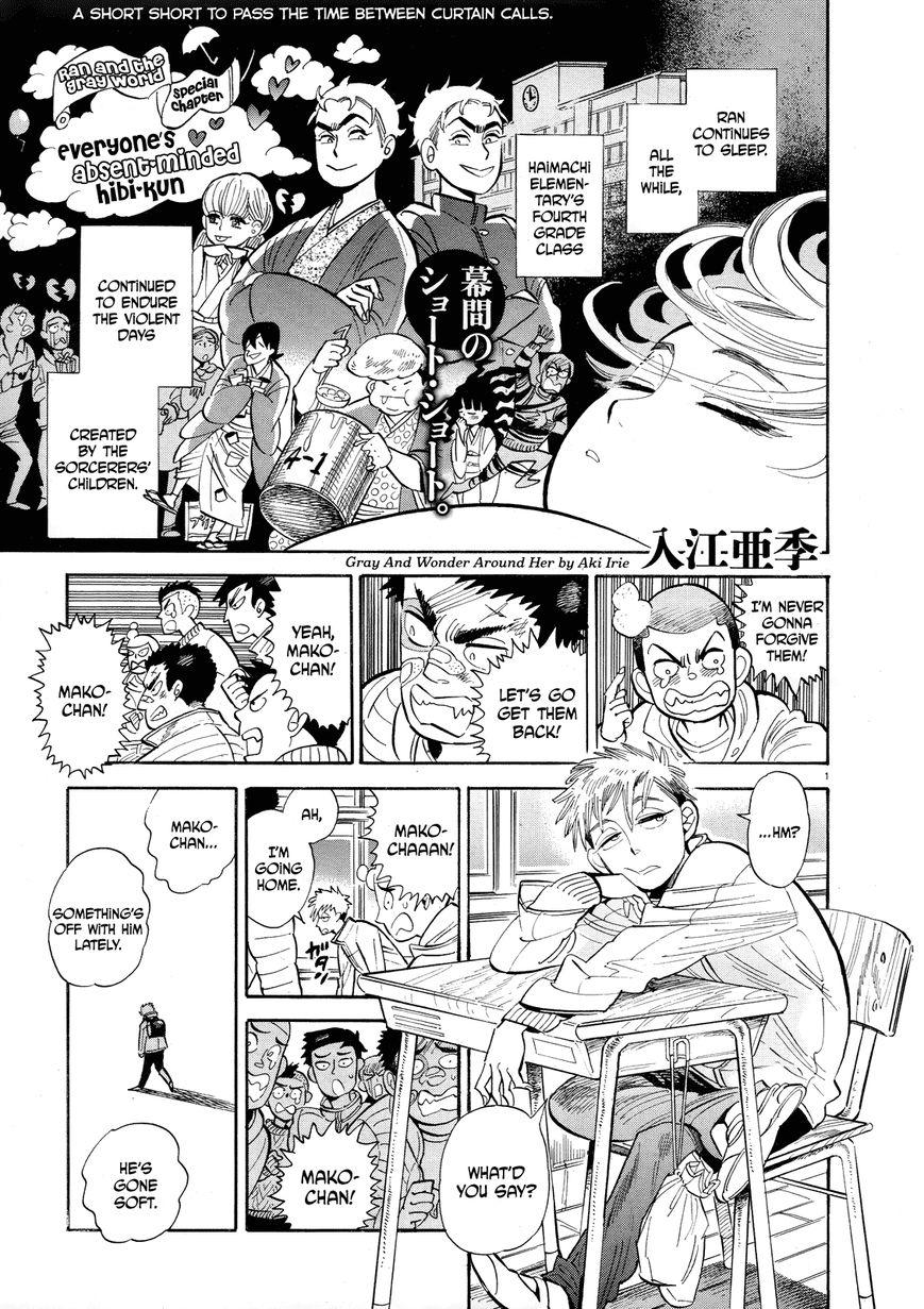 Ran to Haiiro no Sekai 38.5 Page 1
