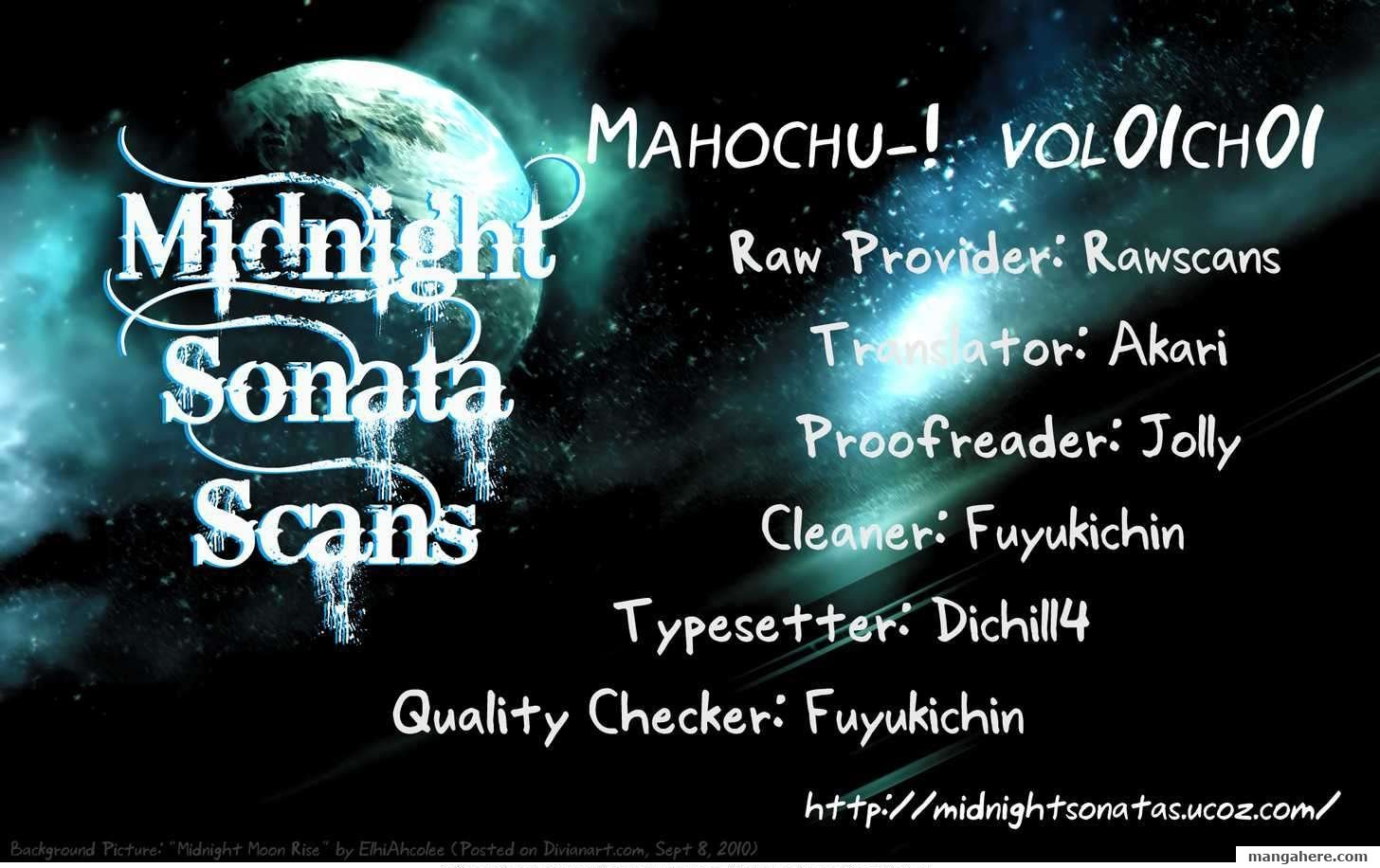Mahochu–! 1 Page 1