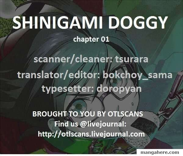 Shinigami Doggy 1 Page 1