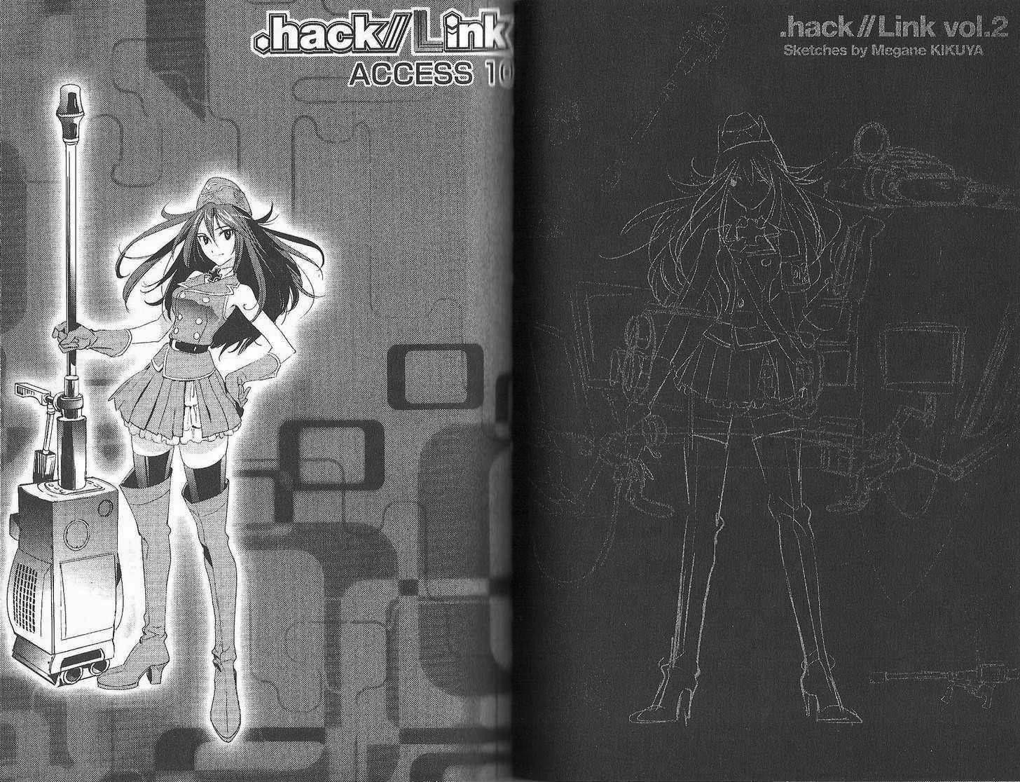 .hack//Link 10 Page 1