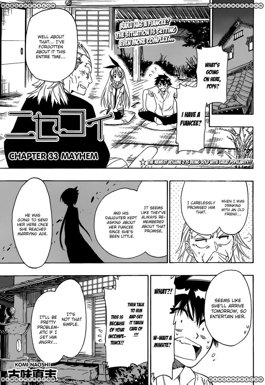 Nisekoi (KOMI Naoshi) 33 Page 1