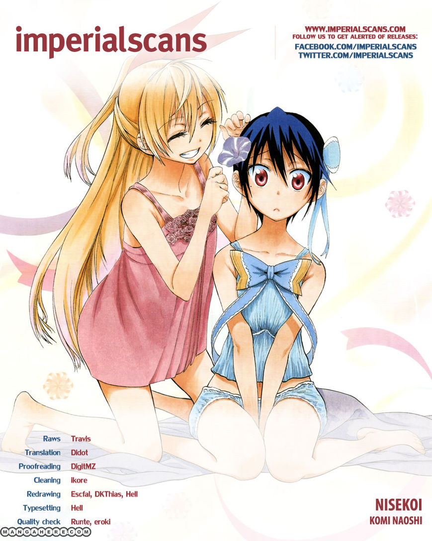 Nisekoi (KOMI Naoshi) 50 Page 1
