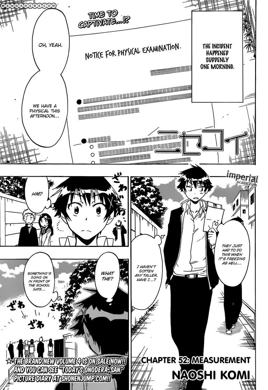 Nisekoi (KOMI Naoshi) 52 Page 1