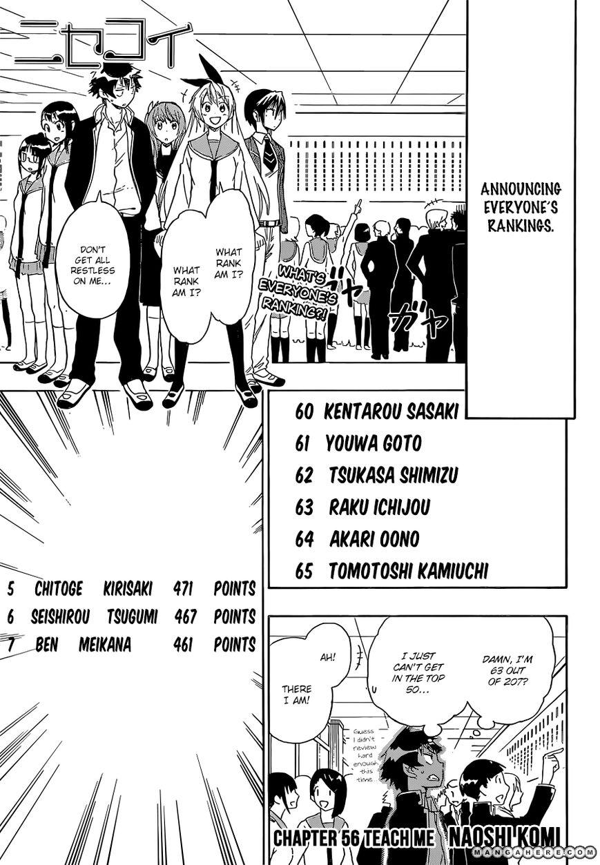 Nisekoi (KOMI Naoshi) 56 Page 1