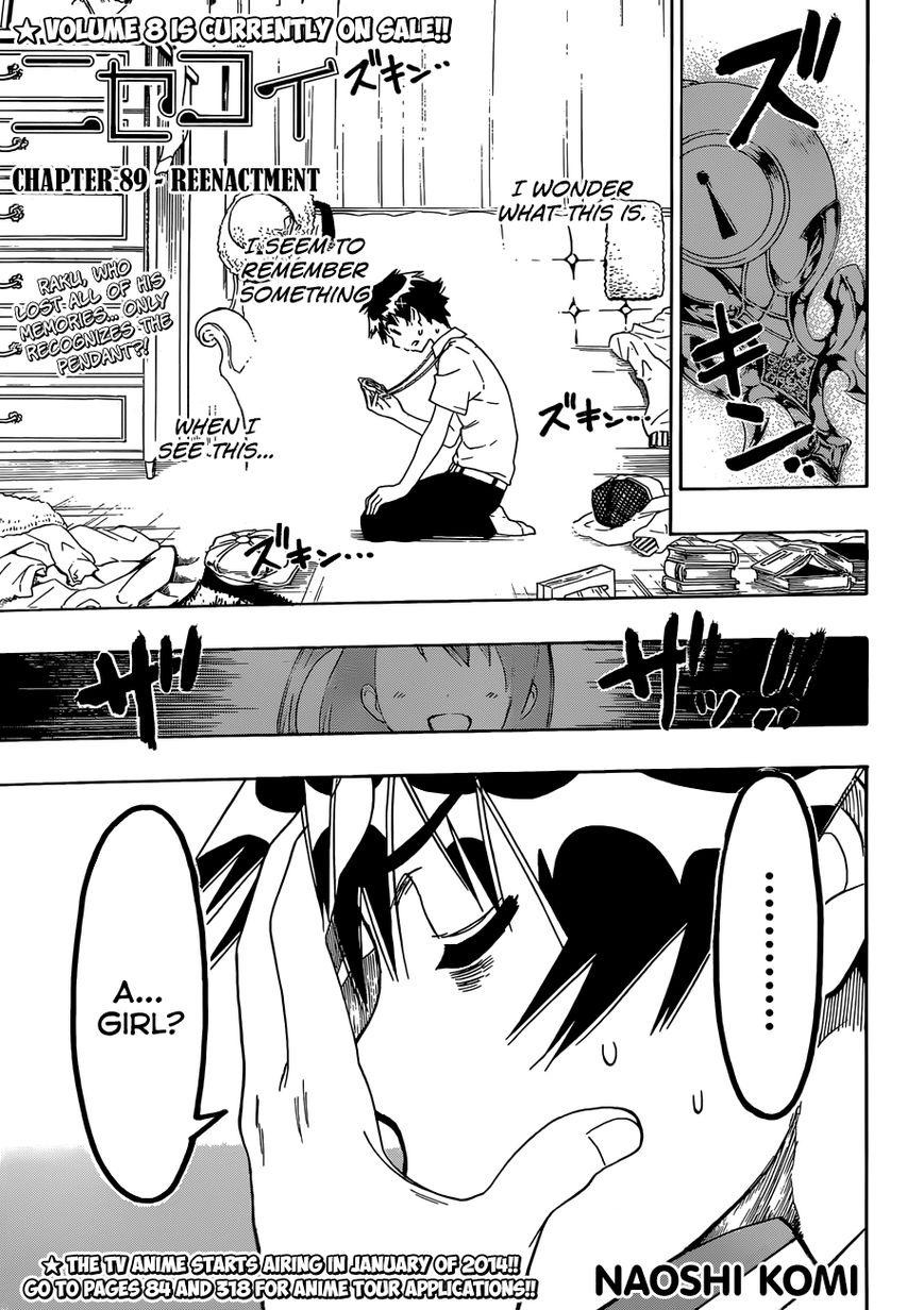 Nisekoi (KOMI Naoshi) 89 Page 2