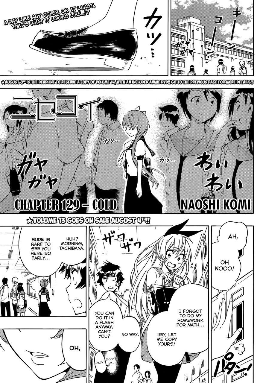 Nisekoi (KOMI Naoshi) 129 Page 2