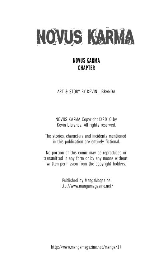 Novus Karma 15 Page 2