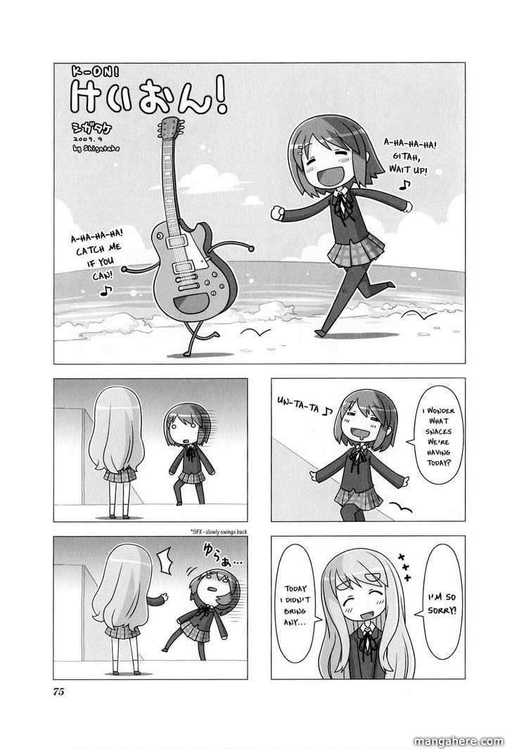 K-On! Anthology Comic 10 Page 1