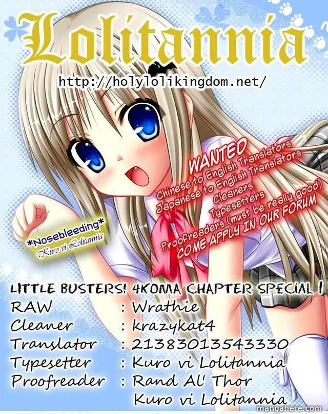 Little Busters The 4 Koma 19.5 Page 1