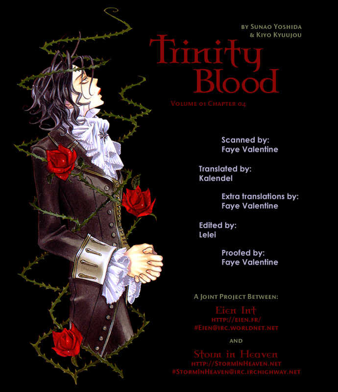 Trinity Blood 4 Page 1