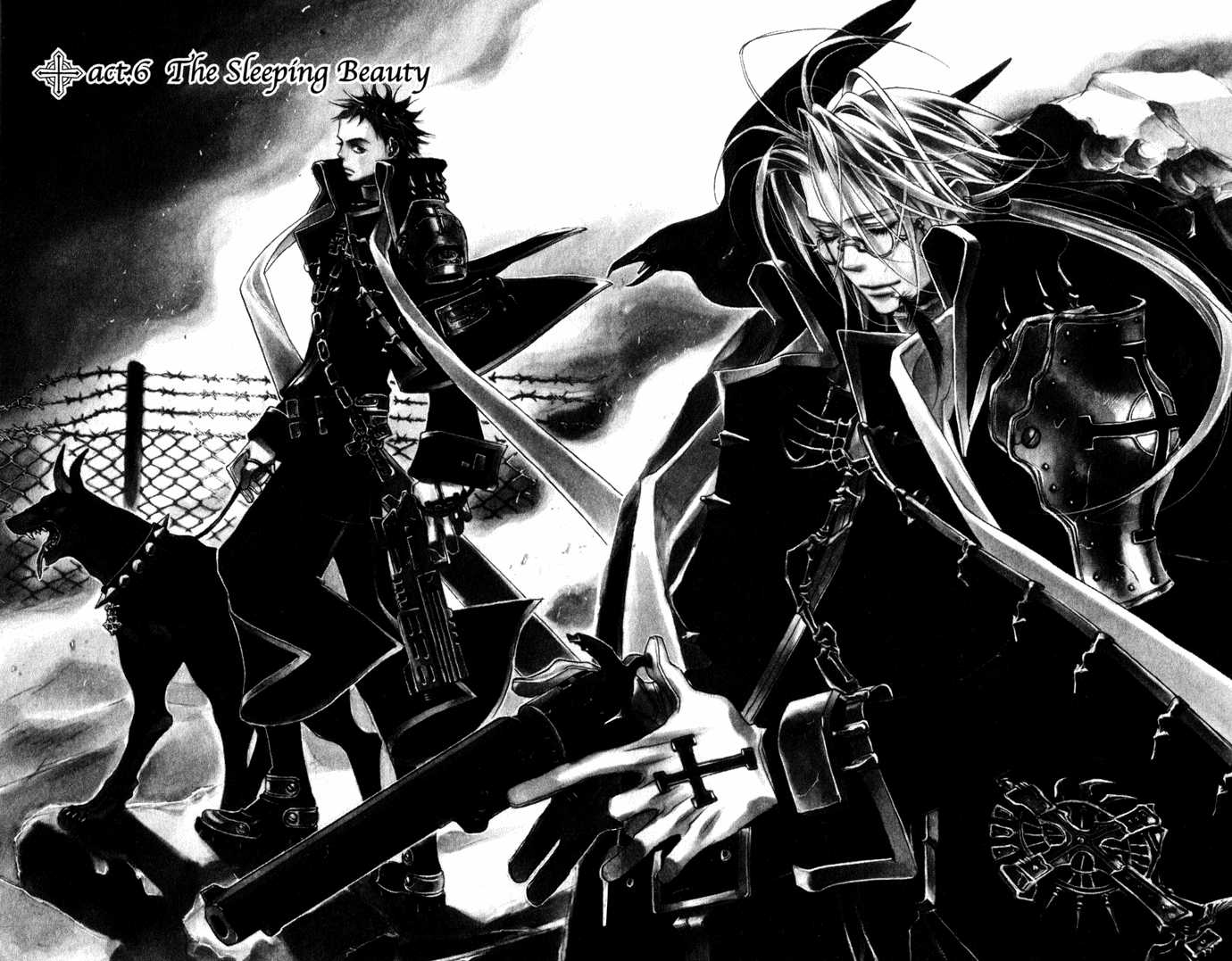 Trinity Blood 6 Page 1