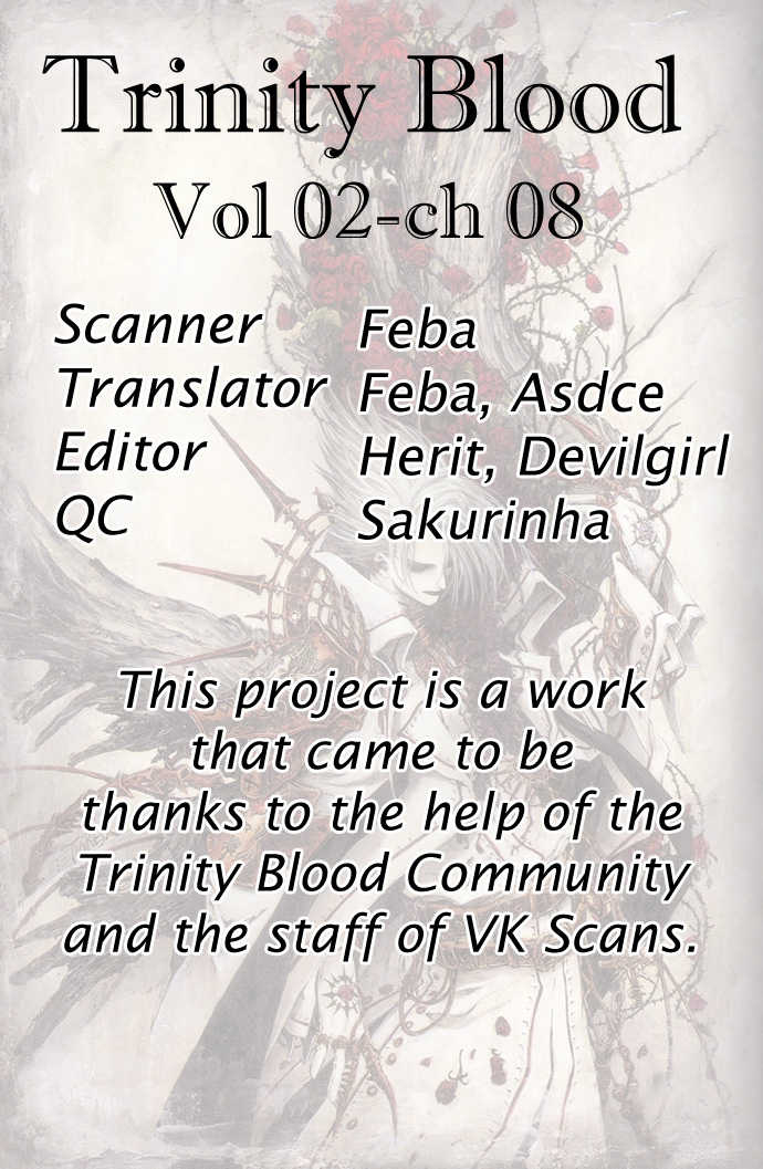 Trinity Blood 8 Page 1