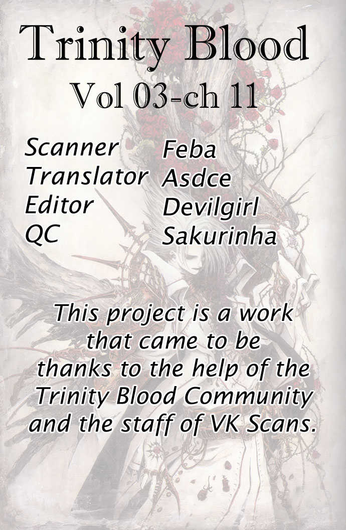 Trinity Blood 11 Page 1