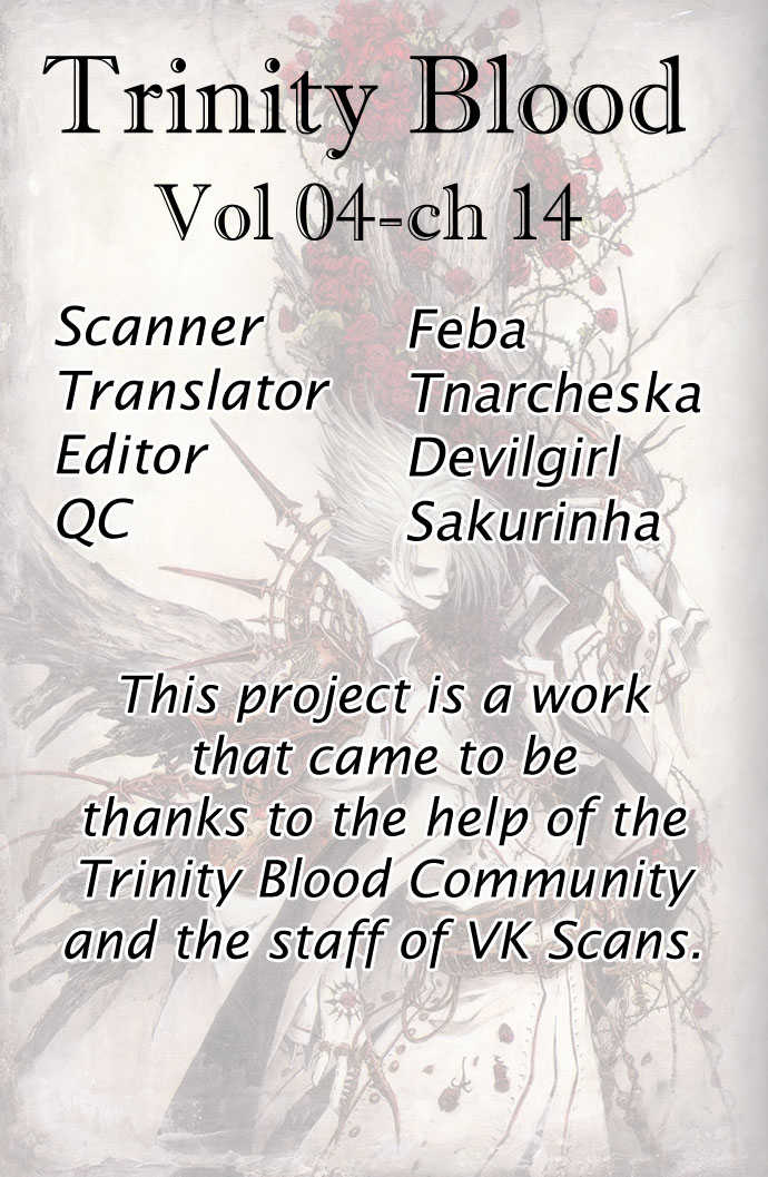 Trinity Blood 14 Page 1