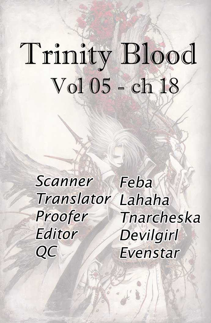 Trinity Blood 18 Page 1