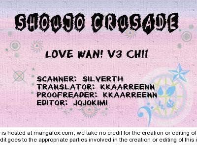 Love Wan! 11 Page 1