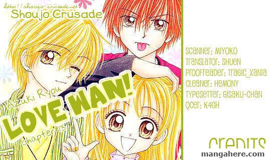 Love Wan! 13 Page 1