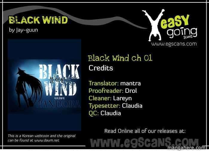 Black Wind 1 Page 1