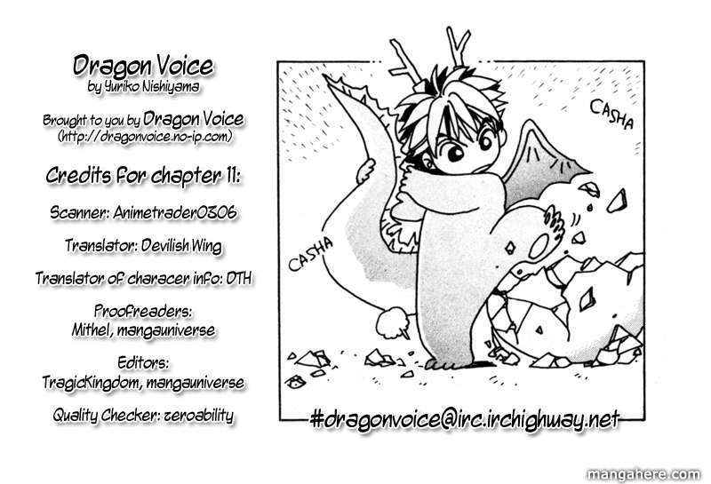 Dragon Voice 11 Page 1